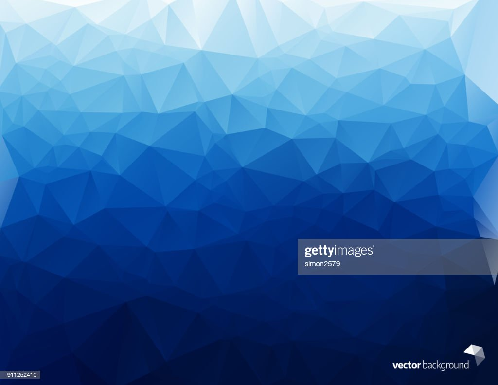 Simple Pixels Design With Blue Color Background Vector Art Getty
