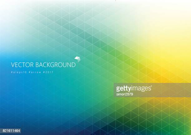 Simple pixels design with colorful background