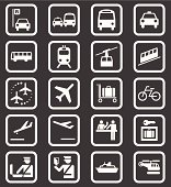 Simple Public Transport Icons
