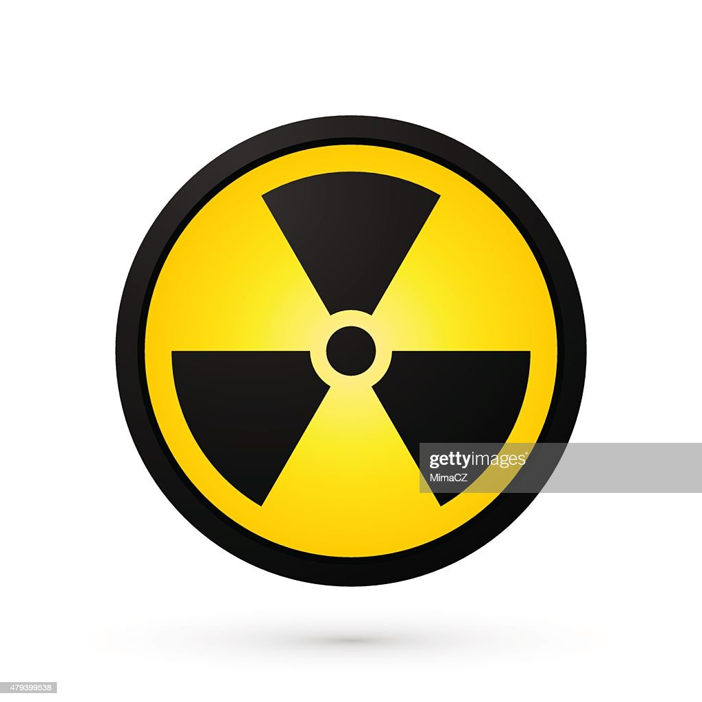 simple radioactivity symbol