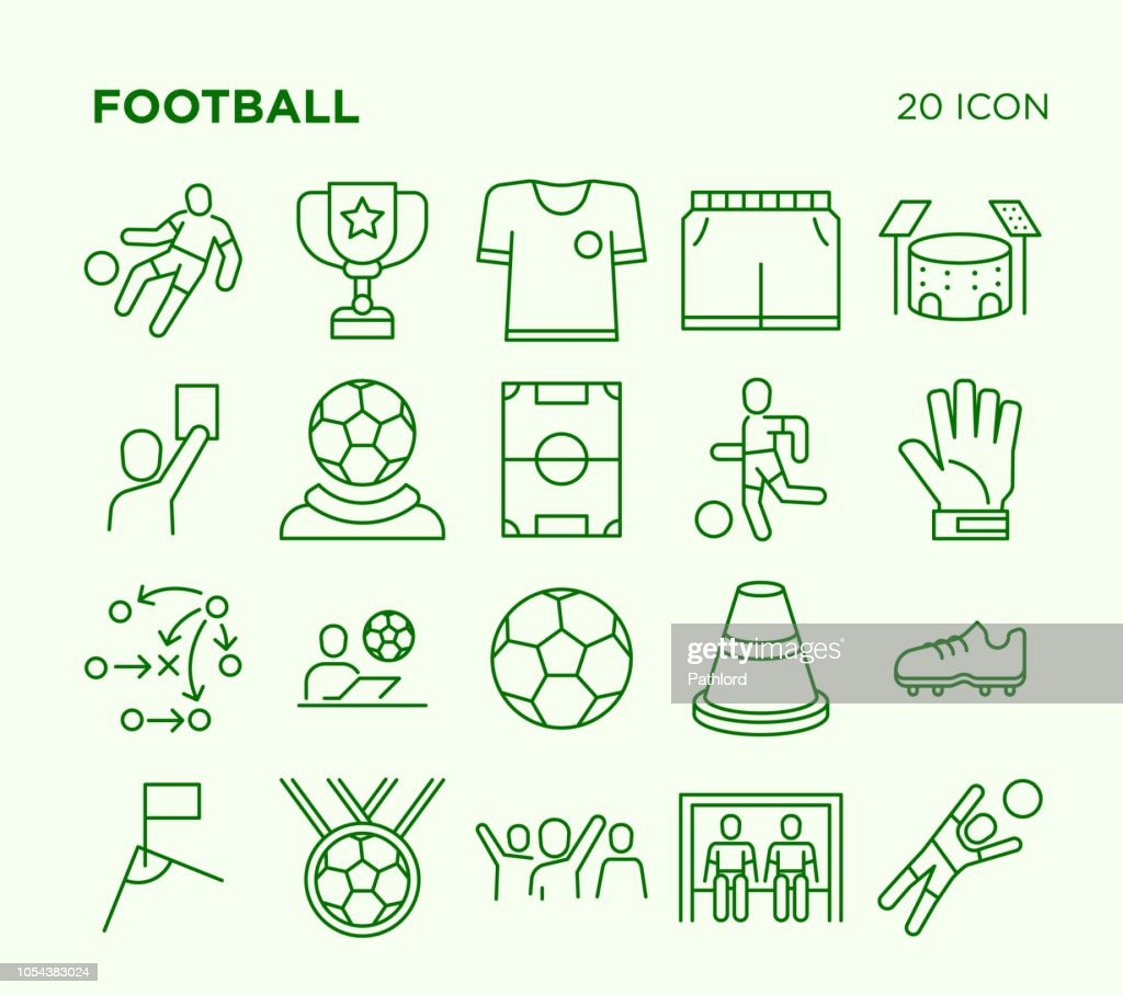 Simple Set of Football.
