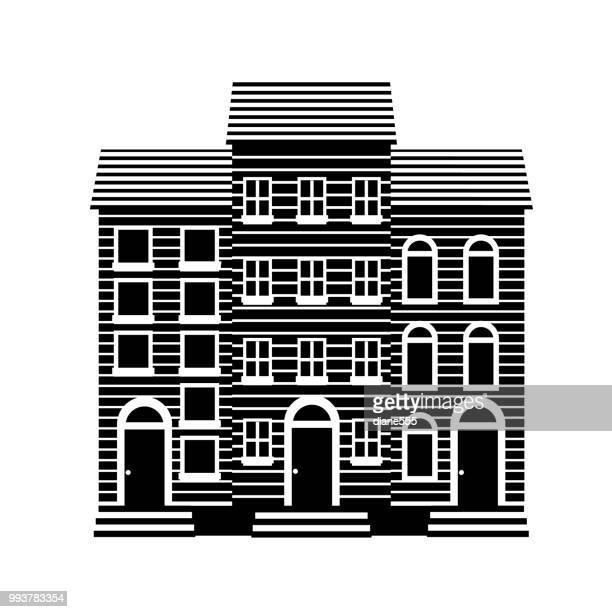 Simple Silhouette Buildings