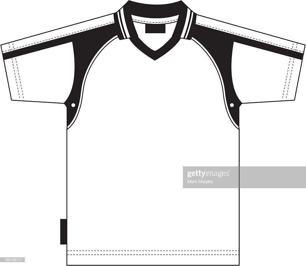 Simple Soccer Shirt : stock illustration
