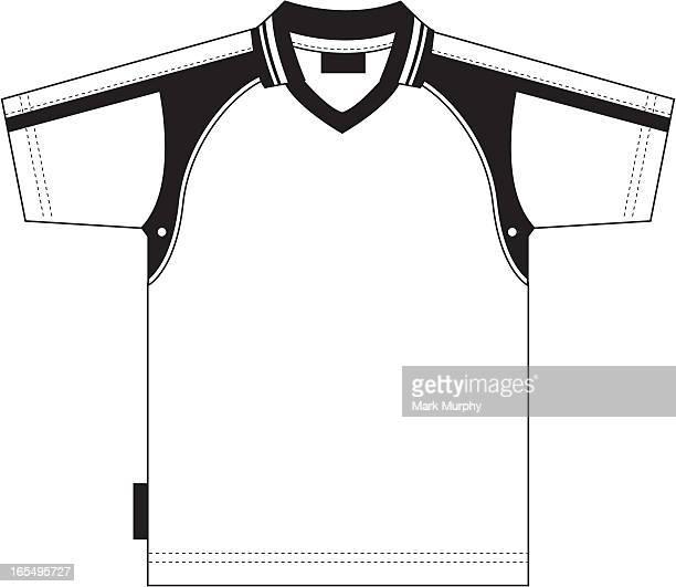 Schlichte Fußball-Shirt