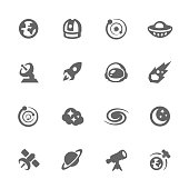 Simple Space Icons