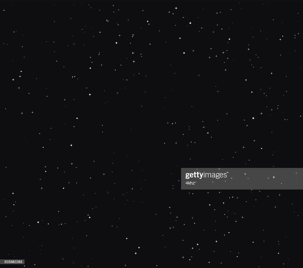 Einfache Sterne Space Stock-Vektor-Hintergrund : Stock-Illustration
