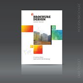 Simple style brochure. Flyer promotion.