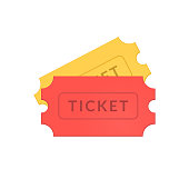 Simple tickets icons