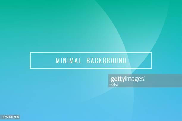einfachen türkis minimal moderne elegante abstrakte vektor hintergrund - biegung stock-grafiken, -clipart, -cartoons und -symbole