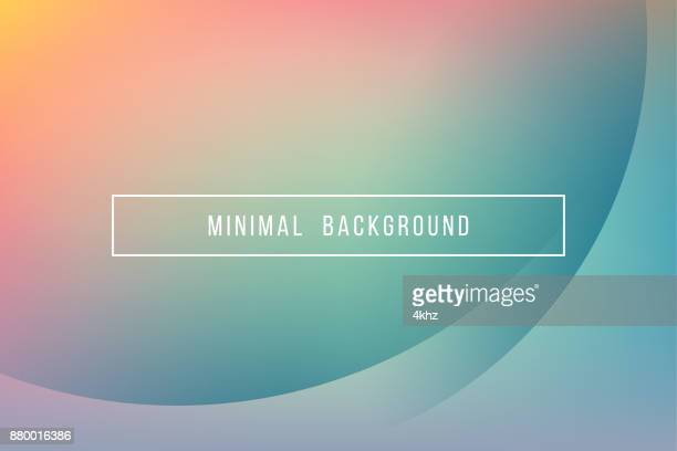 Eenvoudige Turquoise minimale moderne elegante Abstract Vector achtergrond