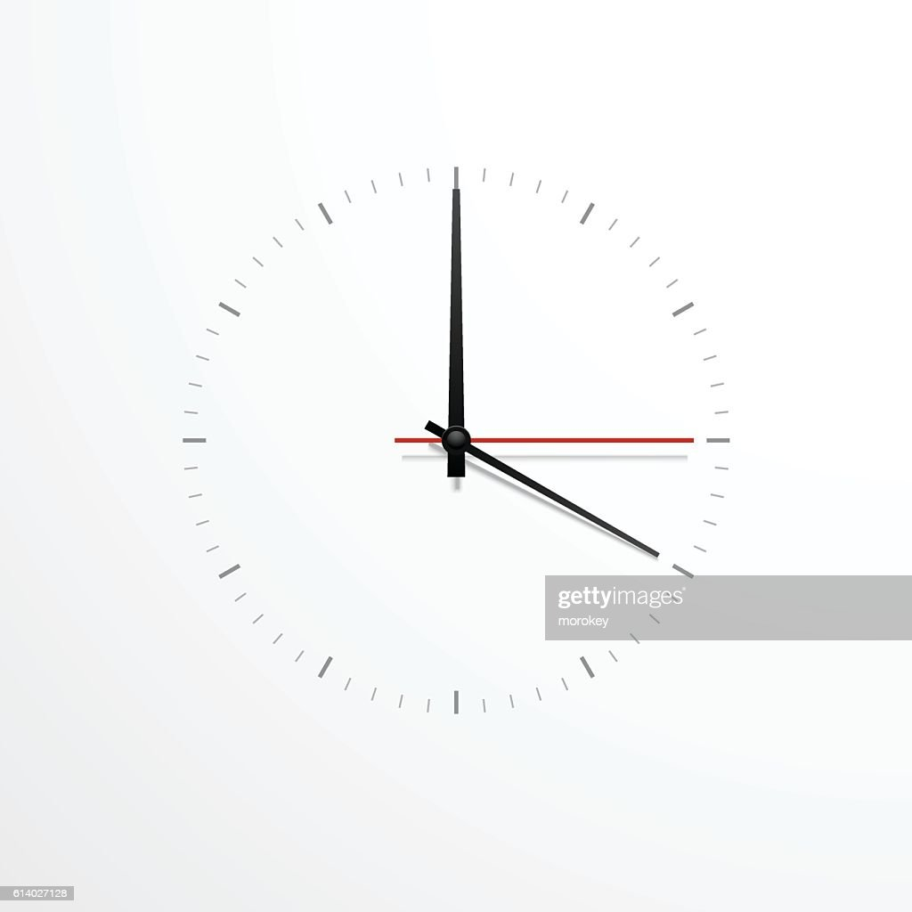 simple wall clock
