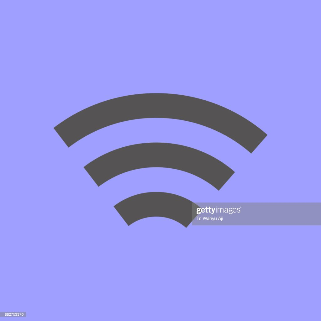 Simple Wireless Network Symbol Vector Art Getty Images