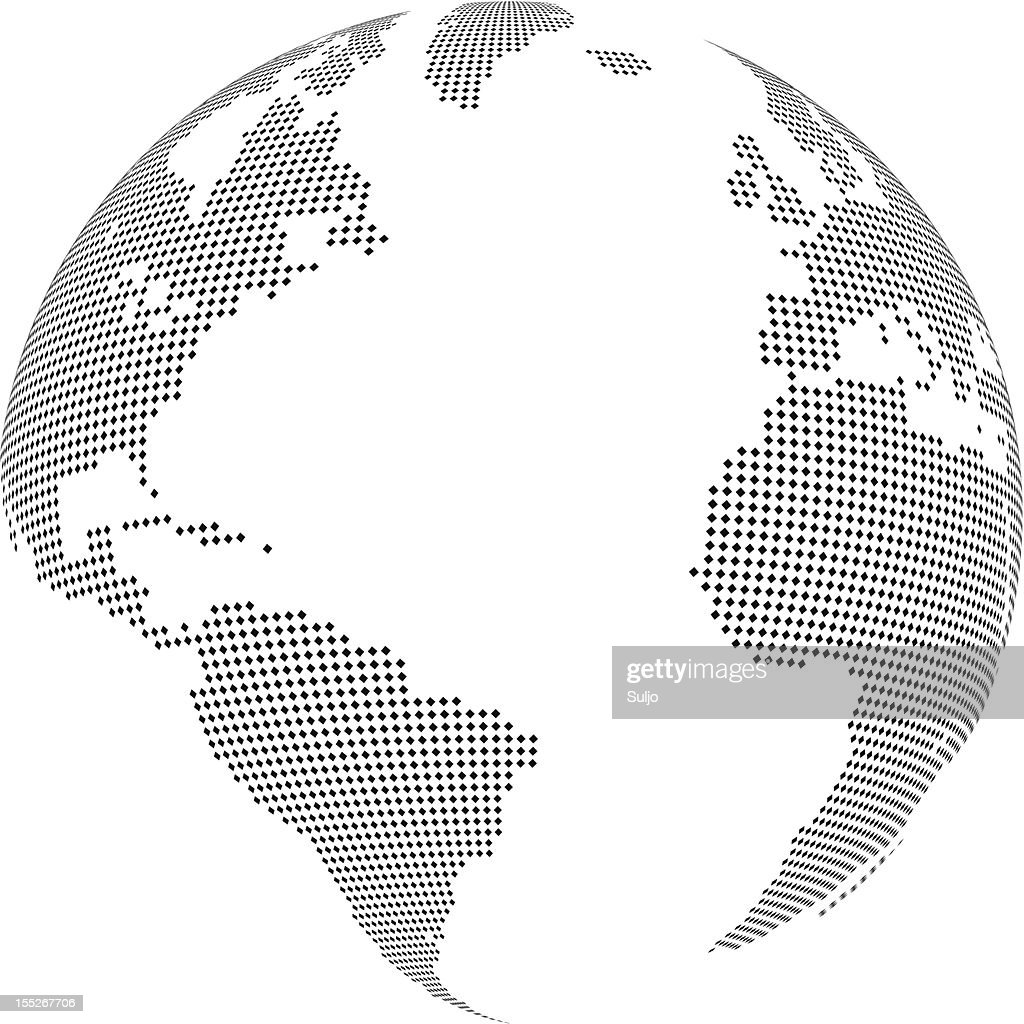 Simple World globe