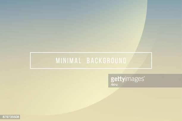 Fondo simple amarillo elegante moderno mínimo del Vector abstracto