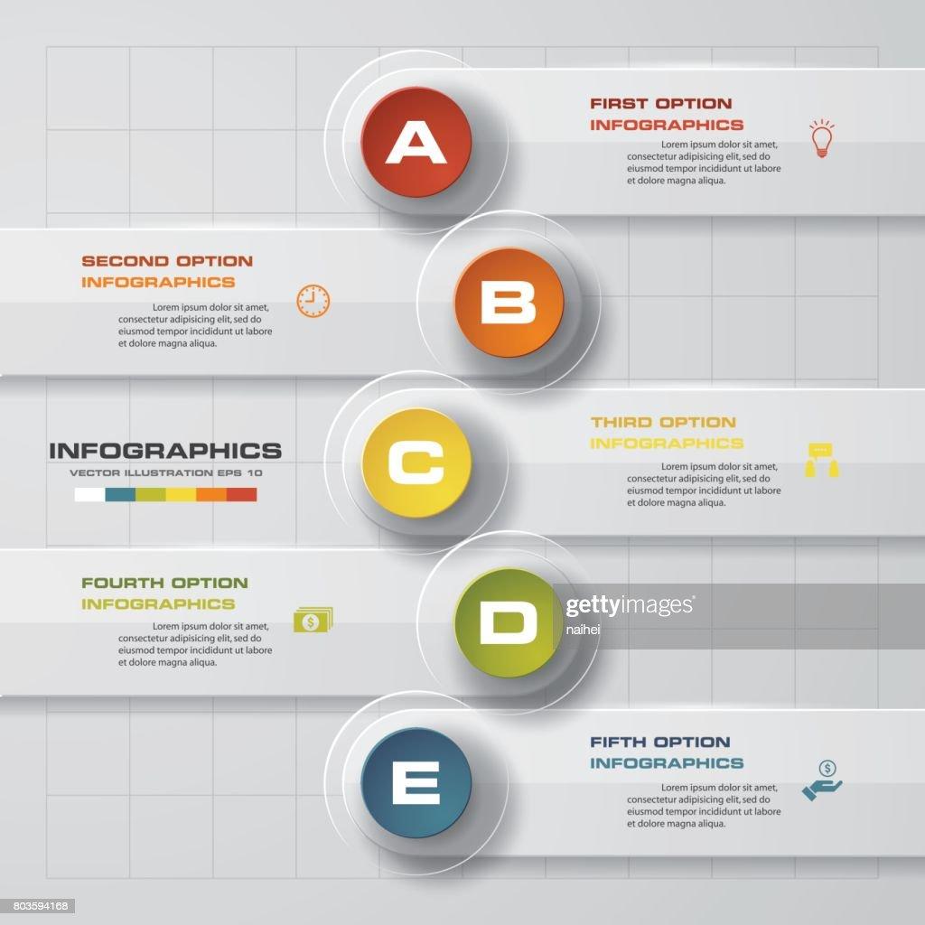 Simpleeditable 5 steps chart diagrams templategraphic or website simpleeditable 5 steps chart diagrams templategraphic or website layout ccuart Choice Image