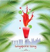 Singapore Sling background