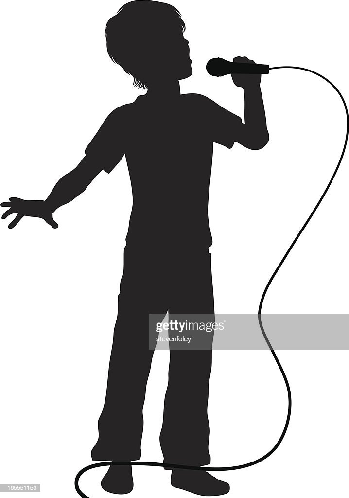 Singer - Boy with Microphone