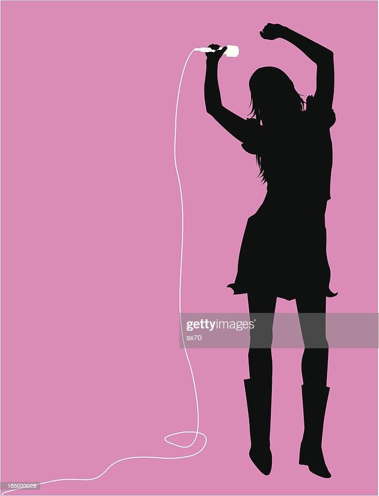 Singer Dancer  ( Vector )