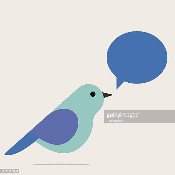 ilustrações de stock, clip art, desenhos animados e ícones de cantar pássaro - canto de passarinho