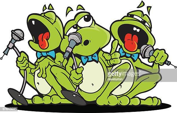 歌のカエル