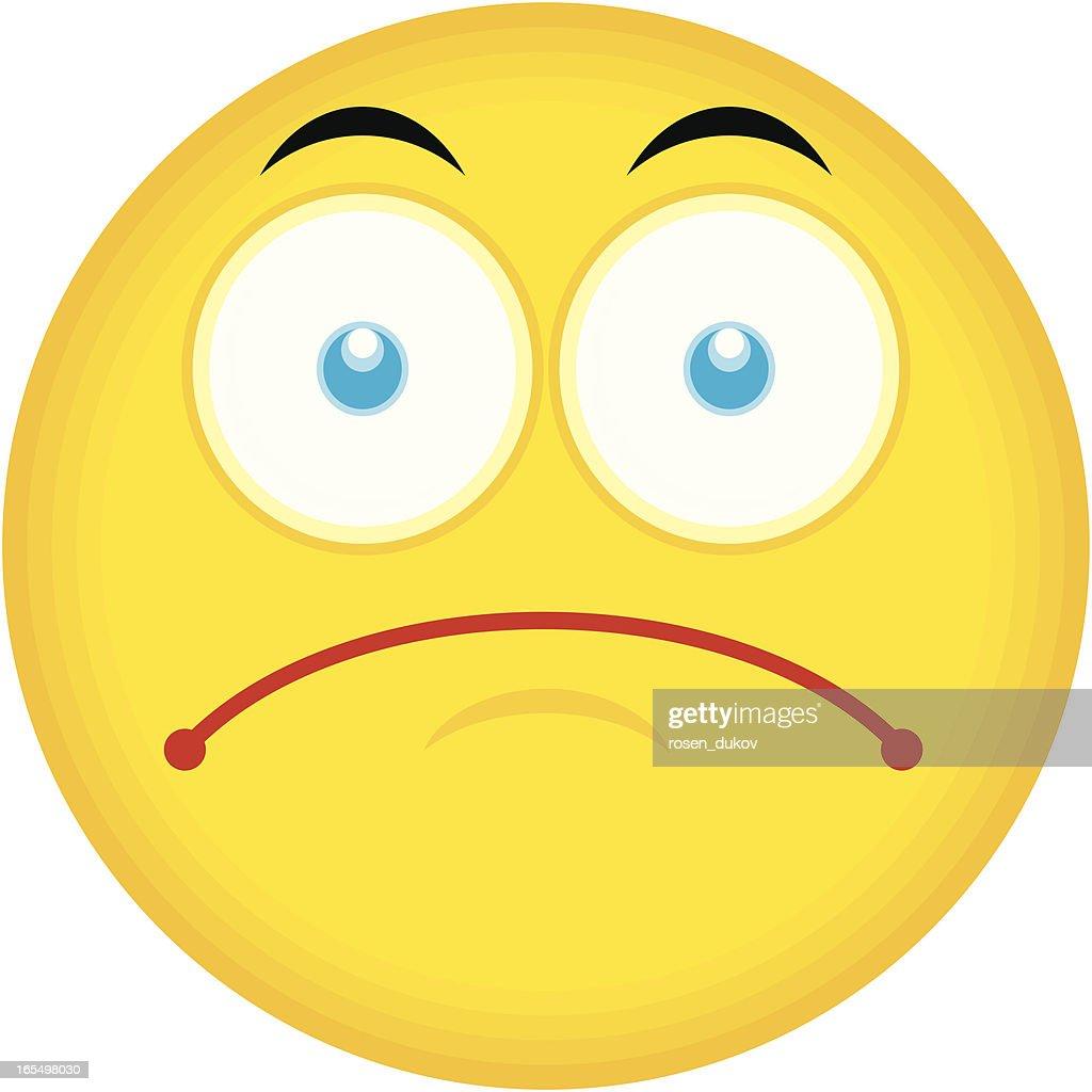 Single Emoticon (Sad Face)