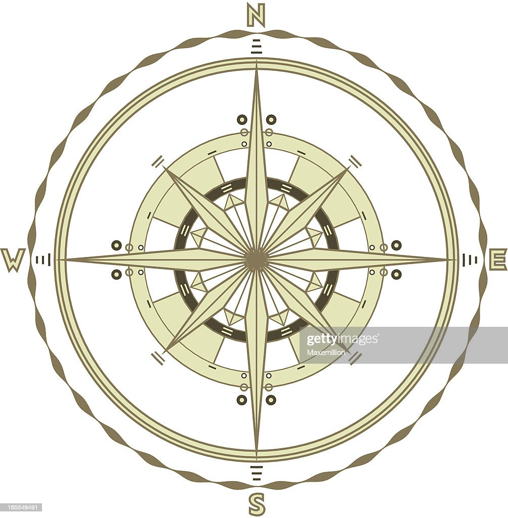 Single Marine Compass