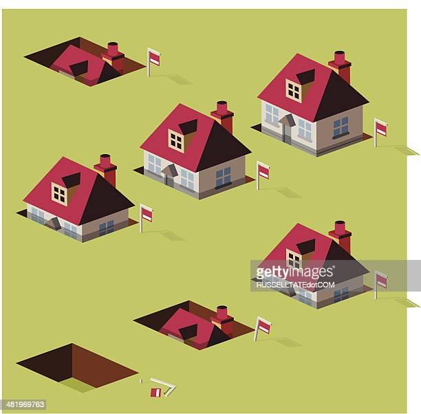 Afundar casa preços