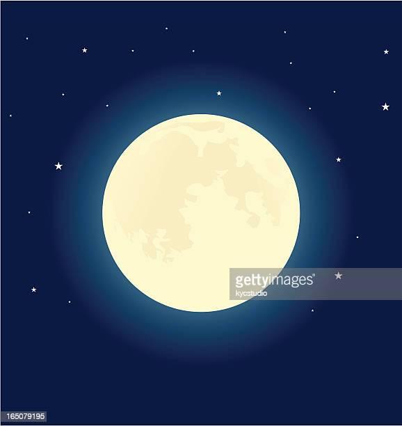 ilustraciones, imágenes clip art, dibujos animados e iconos de stock de hermana moon - luna llena