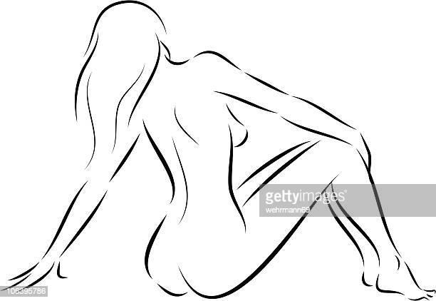 ilustraciones, imágenes clip art, dibujos animados e iconos de stock de mujer estar 03 - mujeres de mediana edad