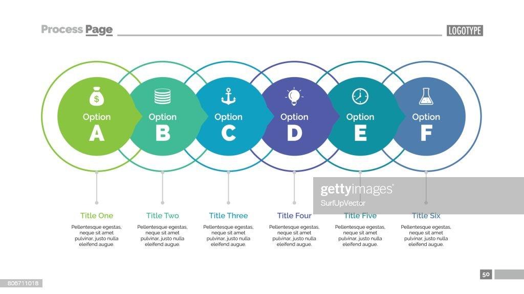 Six Ideas Slide Template