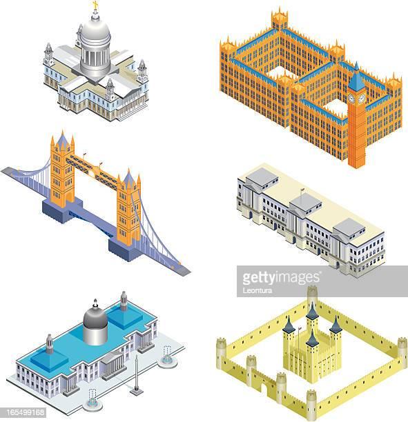 Six London Buildings