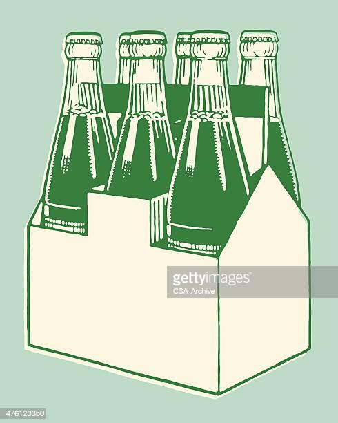 Six-Pack von Soda