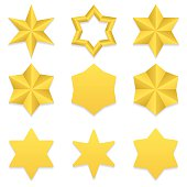 Six point stars collection