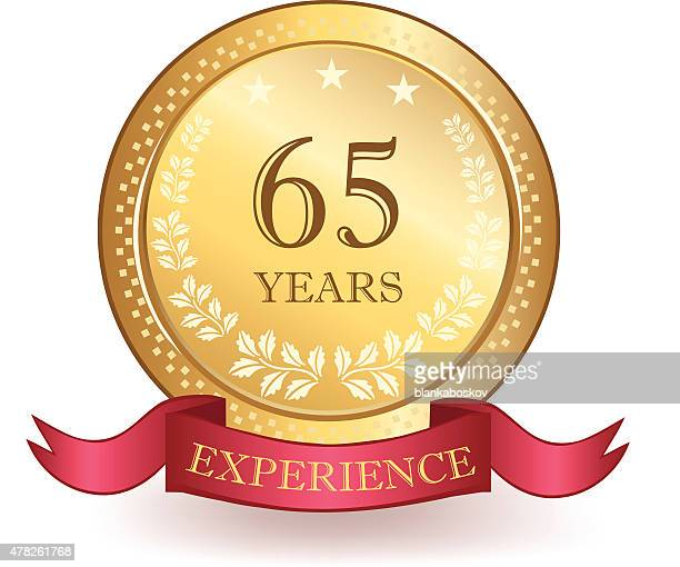Sixty Five Years Experience banner