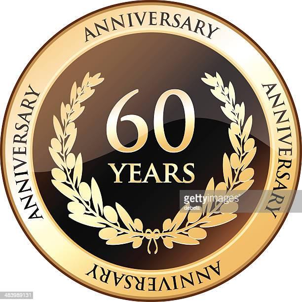 Escudo de Aniversário de 60 anos