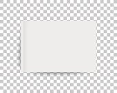 A4 sized mockup of a landscape-oriented magazine or catalogue. Blank sheet of paper. 3d vector illustration for your design.