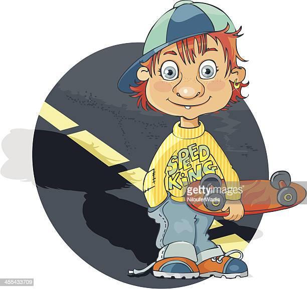 Skateboard speed king