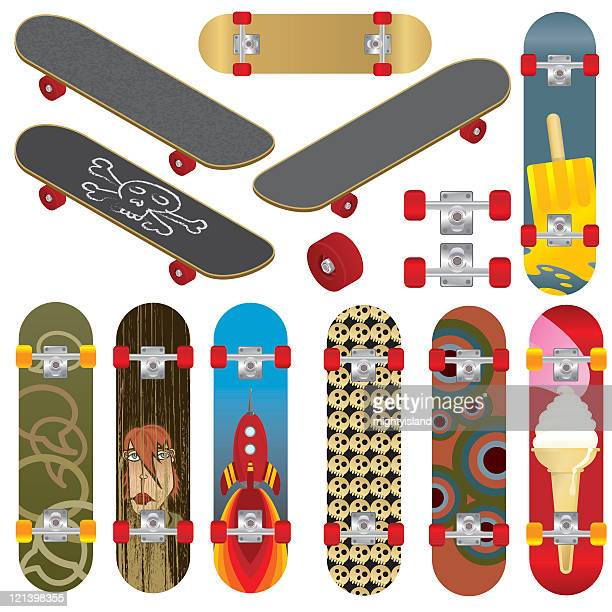 87b7dd30 60 Top Skateboard Stock Illustrations, Clip art, Cartoons and Icons ...