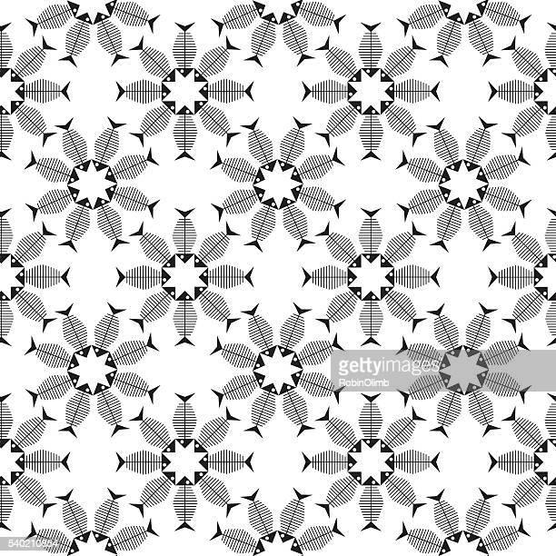 Skeleton Fish pattern