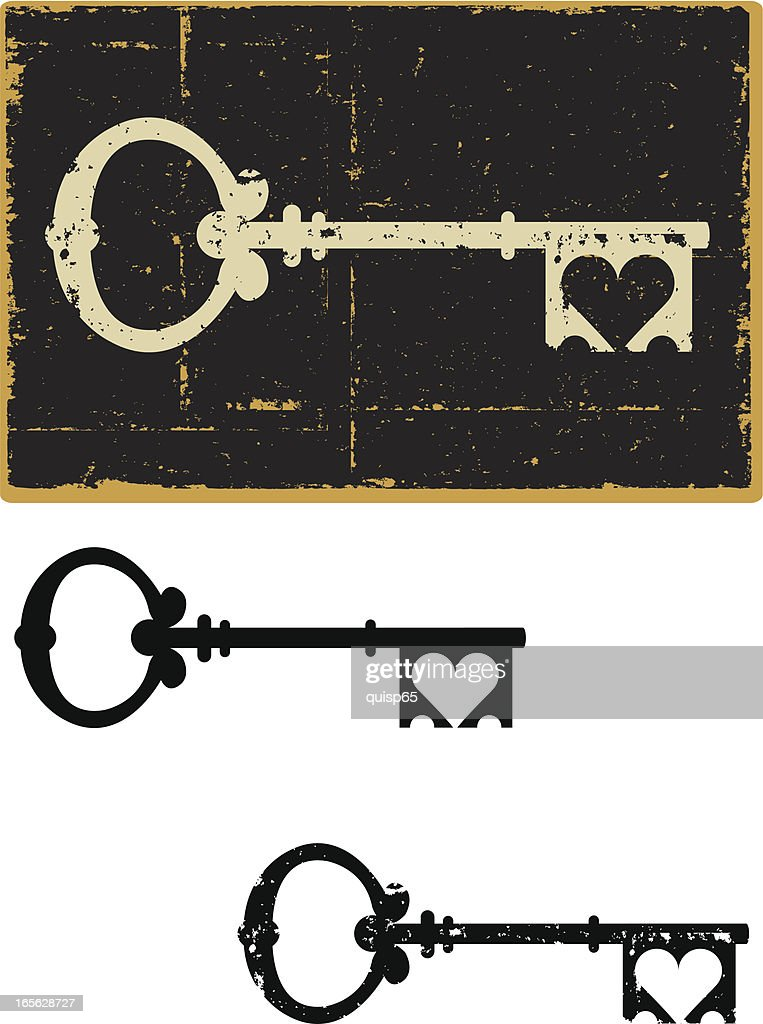 Skeleton Key Heart