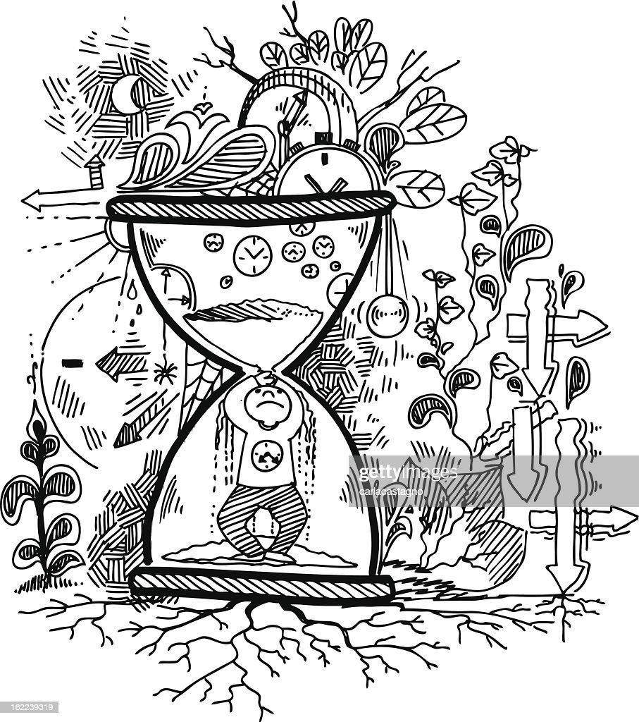 Sketch doodles: TIME