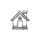 Sketch icon - Bird house