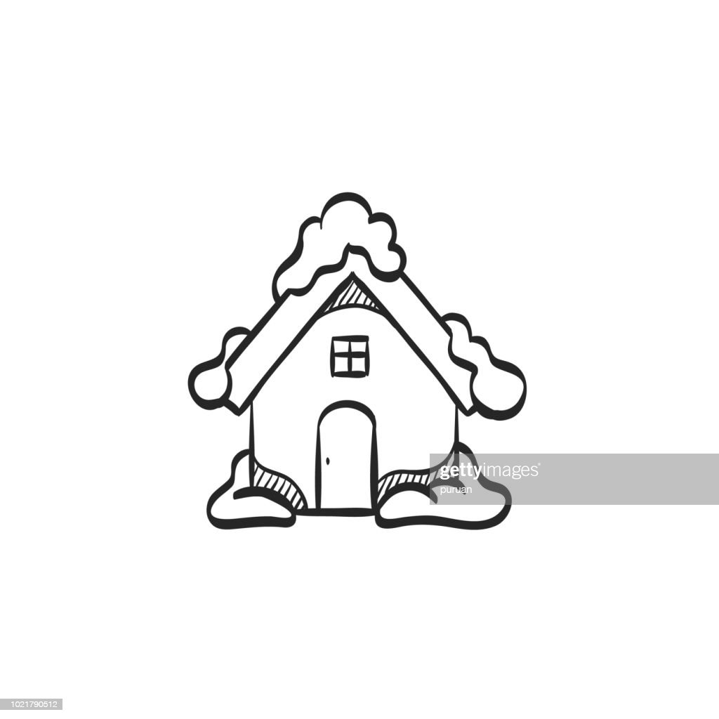 Sketch icon - House
