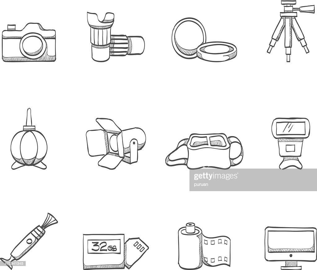 Sketch Icons - Photography