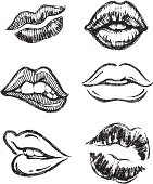 Sketch Lips Set