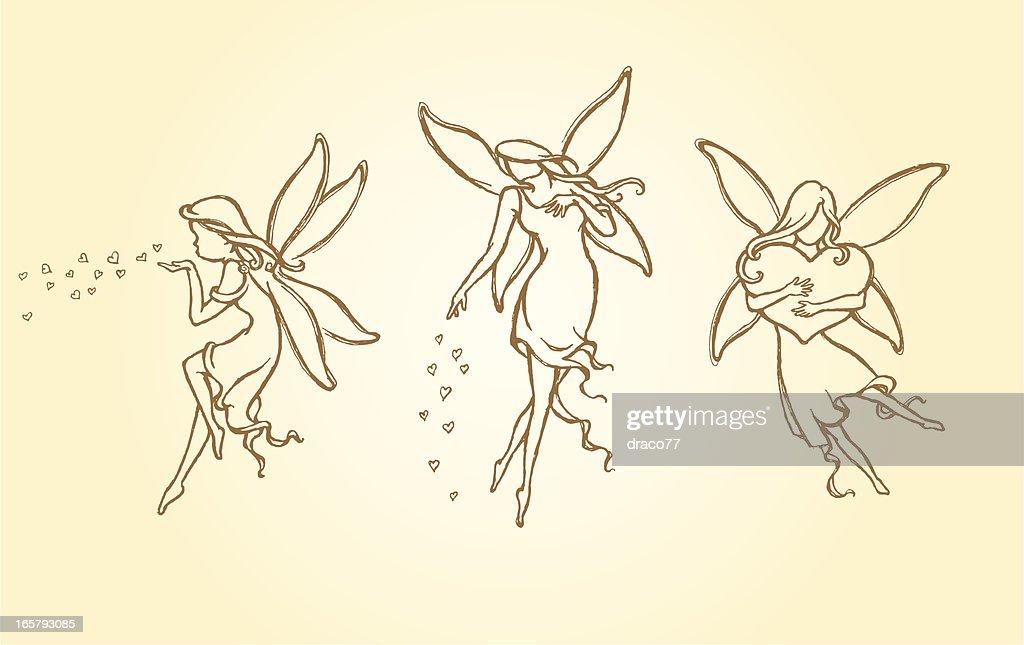 Sketch Love Fairy Set