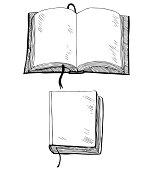 Sketch of book