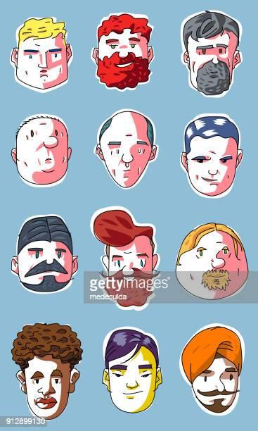 Sketch People Man Vector Icon