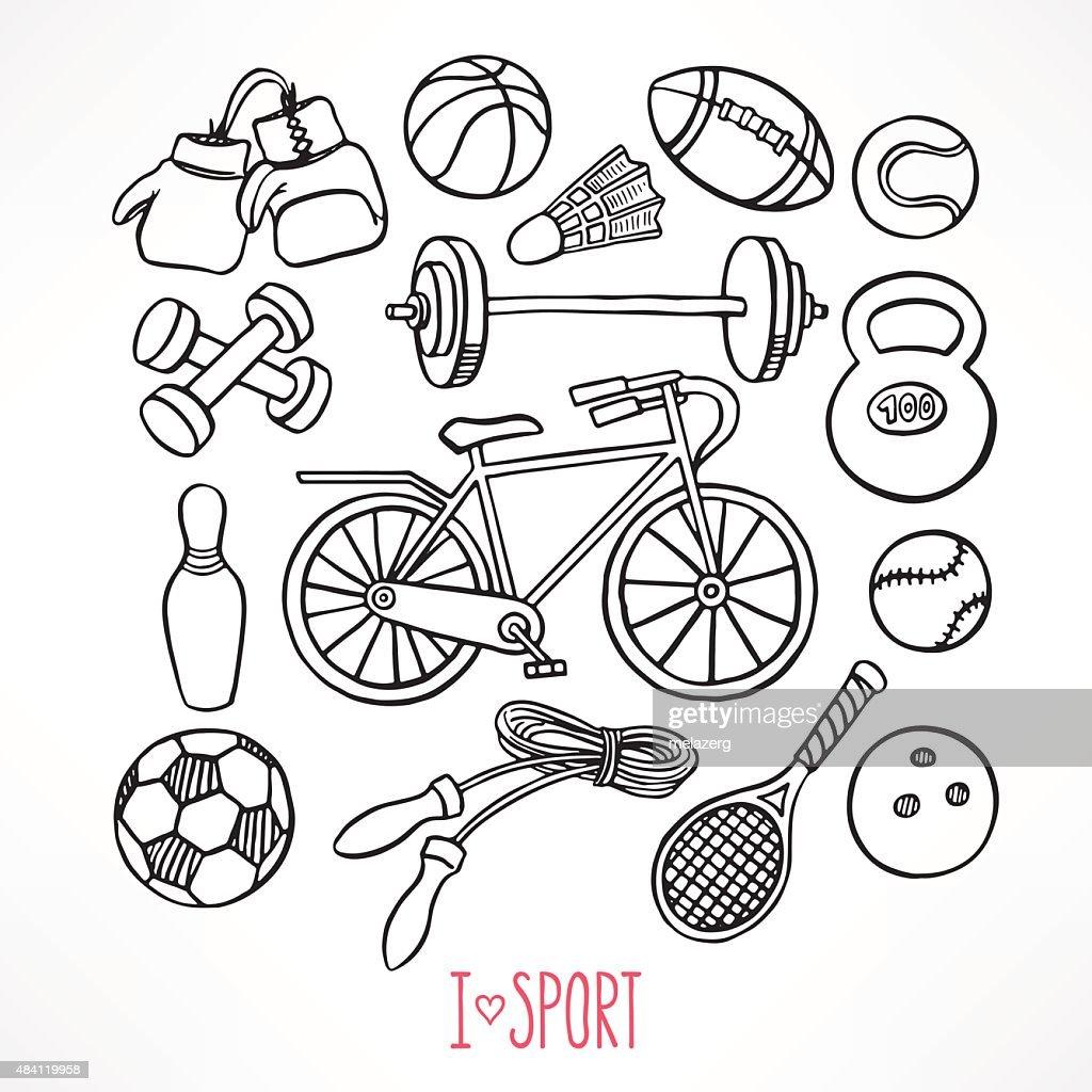 sketch sport equipment