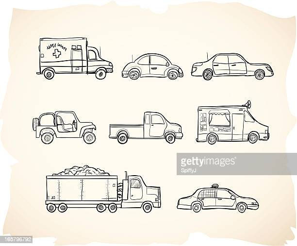 Sketch Vehicles